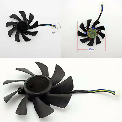 AU7.39 • Buy Graphics Card Cooling Fan T129215SH 4Pin For GeForce GTX 1060 Mini 3GB ITX