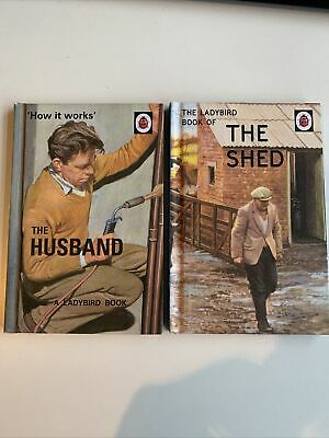 Ladybird Book-adults Bundle Of 2 The Shed And The Husband • 3£