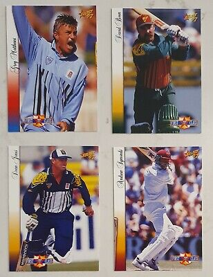 AU7.50 • Buy 4 X 97 Select First Class Cards David Boon Symonds Dean Jones Cricket Not Signed