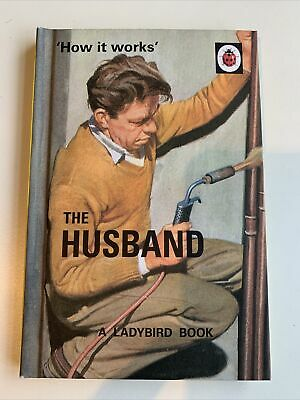 Ladybird Book For Adults - 'how It Works' The Husband • 1.49£