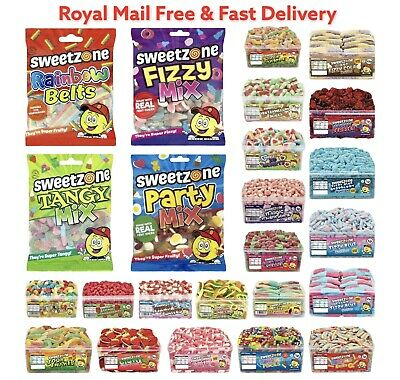 Sweetzone Gummy Sweets Retro Pick N Mix Candy Cart Treat Party Favour Halal HMC • 2.60£