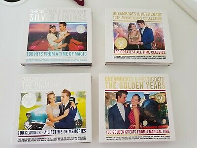 Dreamboats And Petticoats- Silver Linings, Diamond, Golden And 10th Anniversary • 10£