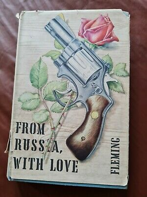 From Russia With Love - Ian Fleming - 1958 (HARDBACK COPY) • 1.99£