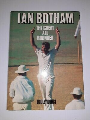 Ian Botham. The Great All-Rounder. Dudley Doust Hardback Book First Edition  • 5.99£