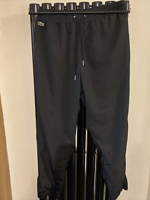 Genuine Lacoste Sport Tracksuit/jogging Bottoms  Size 5 = 32/34 Waist As Stretch • 5£