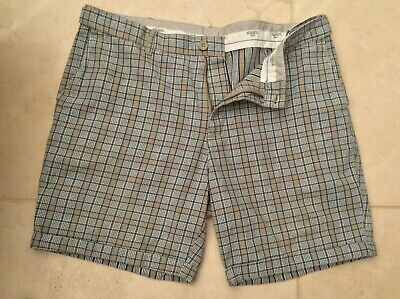 Mens Atlantic Bay (Bhs) Check Shorts W38 • 4.50£