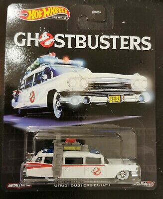 Collector Premium Movie Ghostbusters Hot Wheels Ecto-1 2019, New • 16£