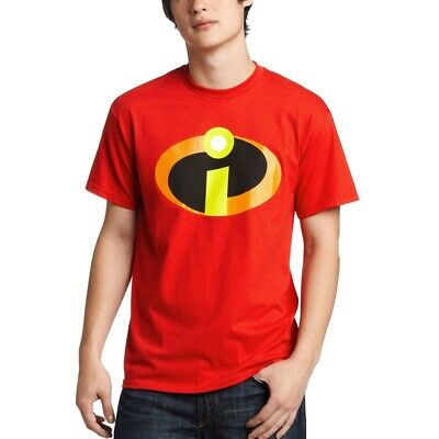 The Incredibles Movie Symbol Logo Adult T-Shirt • 12.76£