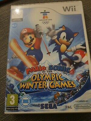 Mario & Sonic At The Olympic Winter Games (Wii, 2009) • 5£
