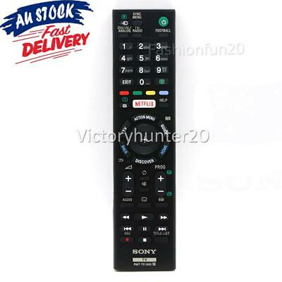 AU13.85 • Buy RMT-TX100D For SONY BRAVIA TV NETFLIX Universal Remote Control LCD LED Series TV