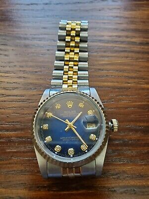 AU4327.05 • Buy Rolex Oyster Perpetual DateJust Watch Magnified Date.SmoothSecond Hand.30yrs Old