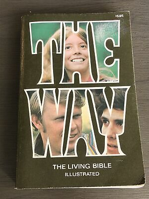 Vintage The WAY Living Bible Illustrated 1974 • 14.19£