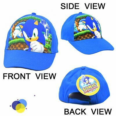 £14.52 • Buy Sonic Kids Baseball Hat With Hangtag For Kids 2-5 Years Licensed Product