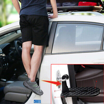 Mini Car Door Latch Hook Step Foot Pedal Ladder Accessories For Jeep Truck Roof • 16.59£