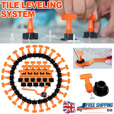 150PCS Tile Leveling System Kits Leveler Spacer Wall Floor Tool Construction • 16.99£