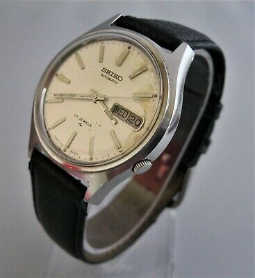 $ CDN9.08 • Buy Vintage Seiko Automatic, 17 Jewels, Stainless Steel, Day & Date, 7009-8029 Runs