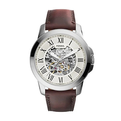 $ CDN370.15 • Buy Fossil Men's Analog Automatic Watch With Leather Strap ME3099