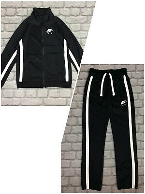 Nike Air Boys Poly Full Zip Black Track Top / Pants Childrens *sold Separately*  • 22.50£