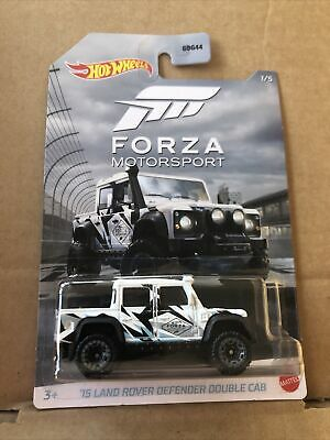 HOT WHEELS DIECAST Forza- '15 Land Rover Defender Double Cab -1/5 -Combined Post • 3.99£
