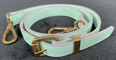 Replacement Shoulder Bag Strap For Laptops,Leather Purse Turquoise  Adjustable. • 6.99£