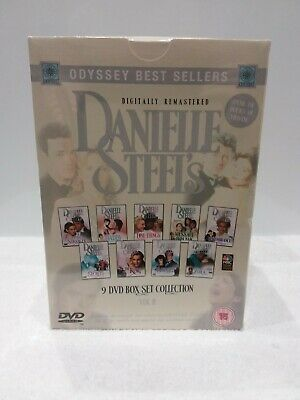 Danielle Steel's 9 DVD Box Set Collection Vol II (New And Sealed) • 27.50£