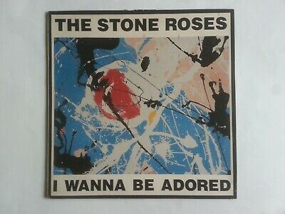 The Stone Roses, I Wanna Be Adored, 12in, 1991. SLEEVE ONLY • 7£