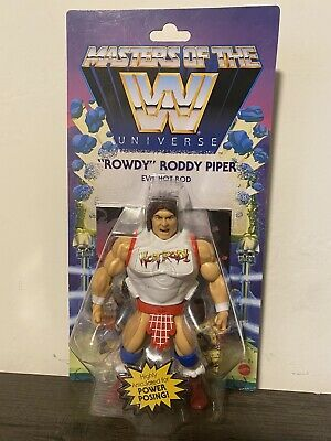 $35 • Buy Masters Of The WWE Universe MOTU Rowdy Roddy Piper Wave 5 New Sealed Figure