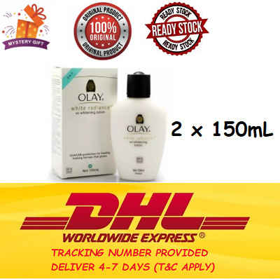 AU72.20 • Buy 2X Olay White Radiance UV Whitening Lotion SPF19 UVA/UVB 150ml For Healthy Skin