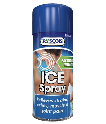 £9.99 • Buy 3x Emergency Cold Freeze Muscle Pain Spray Deep Muscular Fast Relief Sports