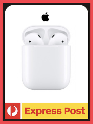 AU215 • Buy NEW Apple AirPods (2nd Gen) With Charging Case | White