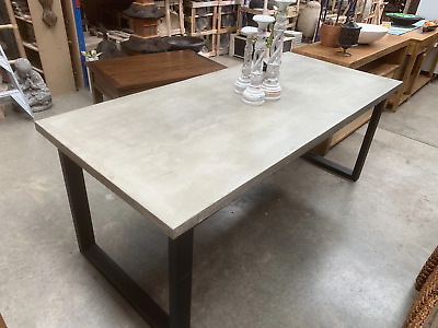 AU1744 • Buy Contemporary 8 Seater Concrete Dining Table