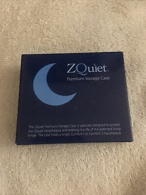 AU25.70 • Buy ZQUIET Premium Storage Case For Anti-Snoring Mouthpiece (CASE ONLY).