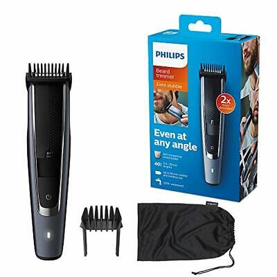 AU102.16 • Buy Philips Beard & Stubble Trimmer/Hair Clipper For Men, Series 5000, 40 Length