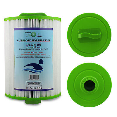 £18.49 • Buy FilterLogic SFL50-6-8-HS Compatible Hot Tub Spa Water Filter For Pleatco PWW50P3
