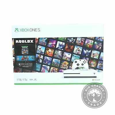AU581.23 • Buy NEW Microsoft Xbox One S 1TB Console - Roblox Bundle With Wireless Controller