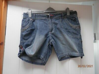 Ladies Cherokee Denim Shorts Size 16 • 1.10£