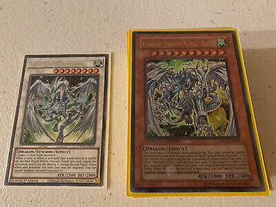 YUGIOH Stardust Dragon / Assault Mode Deck Complete 41 - Cards With Sleeves • 23.58£
