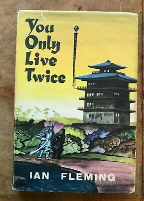 Ian Fleming You Only Live Twice  First Book Club Hardback Edition • 10.95£