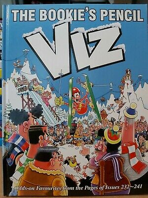 Viz The Bookie's Pencil. Odds-on Favourite  From The Pages Of Issues 232 To 241 • 1.99£