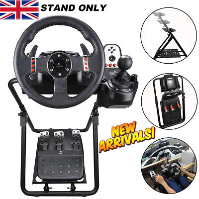 Racing Simulator Steering Wheel Stand For LogitechG29 G920 Thrustmaster PS4 Xbox • 64.89£