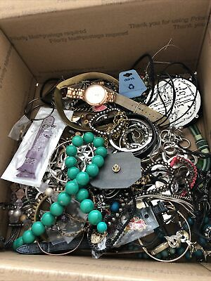 $ CDN284.02 • Buy HUGE Vintage JUNK DRAWER Estate Find Jewelry Lot UNSEARCHED 20lbs Lot 1