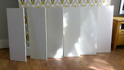 Ikea Extra Shelf 6x White Shelves Spare To FitBilly Bookcase 80 X 28 Cm • 15£