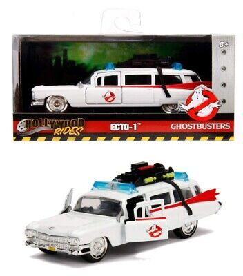 Jada- Ghostbusters Car ECTO-1 Metal 1:32 Collection, White 253232000 • 17.50£