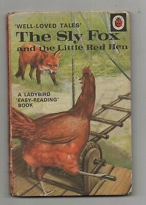 Ladybird Books Well Loved Tales The Sly Fox And The Little Red Hen Matt Covers • 2.49£