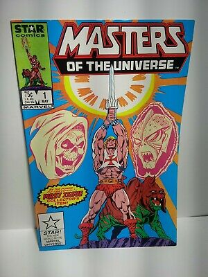 $19.99 • Buy Masters Of The Universe #1 (1986) Marvel Comics He-Man VF/NM