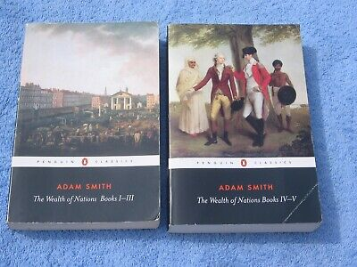 AU19.50 • Buy Adam Smith: The Wealth Of Nations: Books I-V Complete (P/Bk)
