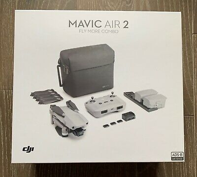 AU1194.77 • Buy DJI Mavic Air 2 Fly More Combo Drone NEW SEALED *SAME DAY SHIPPING*