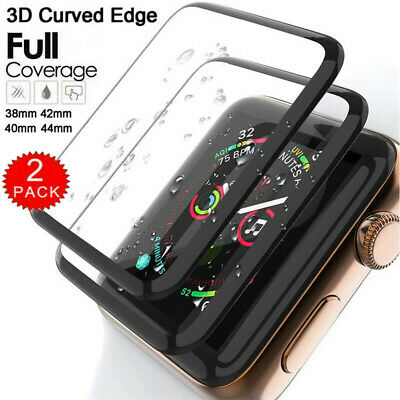 $ CDN5.26 • Buy For Apple Watch Series SE 6 5 4 3 40mm 44mm 42mm Tempered Glass Screen Protector