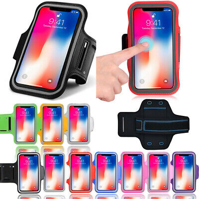 AU10.99 • Buy Fancy Sports Armband For IPhone X / 10 Running Workout Holder Free Adapter