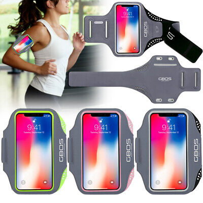 AU26.99 • Buy GBOS® Gym Armband Running Exercise Workout Case For IPhone X / 10 Free Adapter